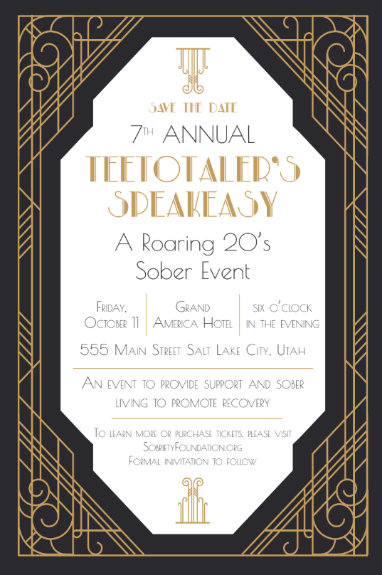 7th Annual Teetotaler's SpeakEasy